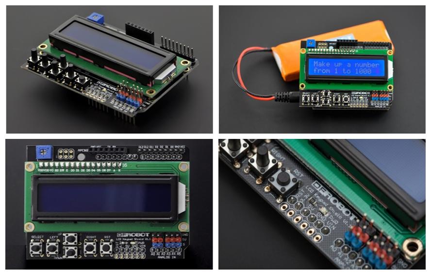 아두이노 LCD 키패드 쉴드 ( LCD Keypad Shield for Arduino )