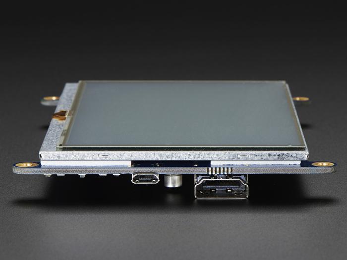 HDMI 5인치 800x480 Display Backpack ( 터치 스크린 )